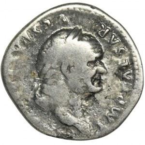 Roman Imperial, Vespasian, Denarius