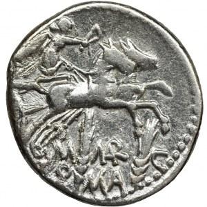 Republika Rzymska, M. Marcius M.f., Denar