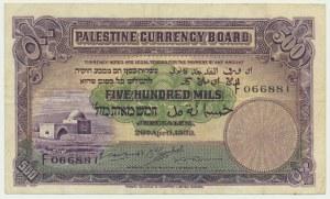 Palestyna, 500 mils 1939 - F -