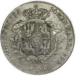 Poniatowski, Talar 6 złotowy Warszawa 1795