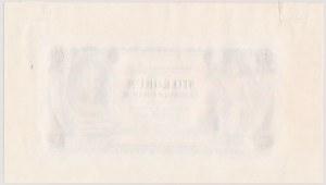 Czechosłowacja, 100 koron 1931 - PRÓBY czarno-białe (2szt.) - RZADKOŚĆ