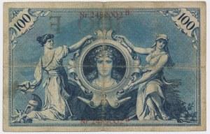 Germany, 100 mark 1898