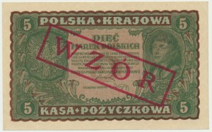 5 marek 1919 - WZÓR - II Serja DP -
