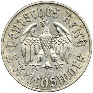 Niemcy, Republika Weimarska, 2 Marki Berlin 1933 A