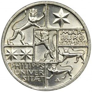 Niemcy, Republika Weimarska, 3 Marki Berlin 1927 A