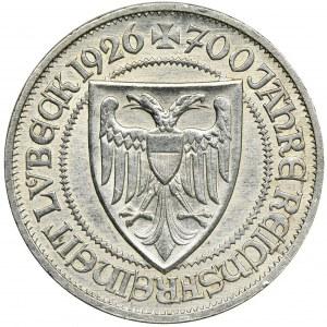 Niemcy, Republika Weimarska, 3 Marki Berlin 1926 A