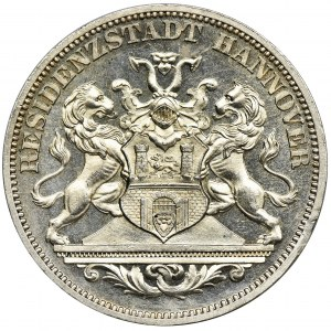 Germany, City of Hannover, Medal Thaler 1872