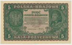 5 marek 1919 - II Serja M -