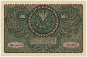 500 marek 1919 - II Serja AO -