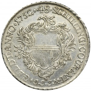 Germany, Lübeck, Thaler = 48 schilling 1752