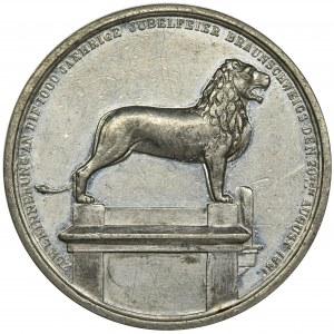 Niemcy, Miasto Brunszwik, Medal 1861