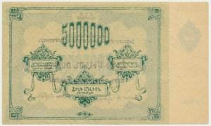 Russia, Armenia, 5 milionów rubli 1922
