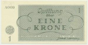 Czechosłowacja (Getto Terezin), 1 korona 1943