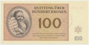 Czechosłowacja (Getto Terezin), 100 koron 1943