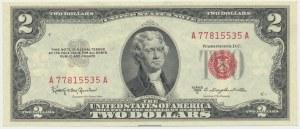 USA, 2$ 1953 C