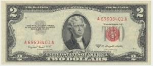 USA, 2$ 1953 B