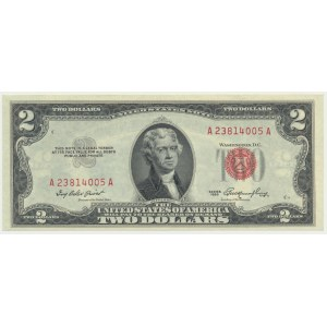 USA, 2 dolary 1953