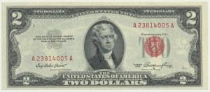 USA, 2$ 1953
