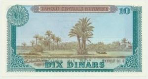Tunisia, 10 dinars 1969