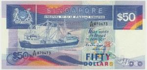 Singapure, 50 dollars 1991