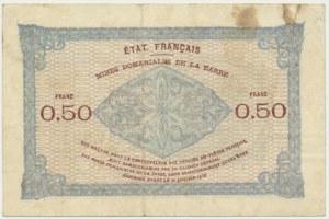 Saar, 50 centimes 1919