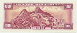 Peru, 1.000 Soles de Oro, 1975