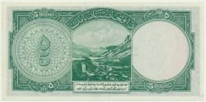 Afganistan, 5 afgani 1939