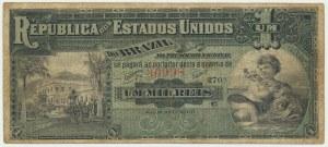 Brazil, 1 milion reis (1891) - RARE