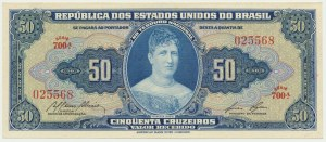 Brazil, 50 cruzeiros 1961