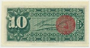 Columbia, 10 centas 1893