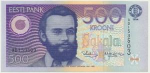 Estonia, 500 koron 1994