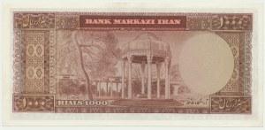 Iran, 1.000 rial 1969