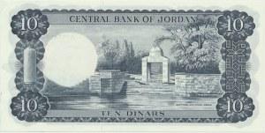Jordan, 10 dinars 1959