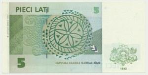 Latvia, 5 lati 1992