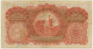 Palestyna, 5 pounds 1939