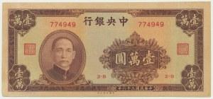 China, 10.000 yuan 1947