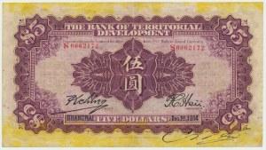 Chiny, 5 dolarów 1914
