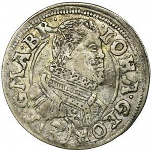 Śląsk, Księstwo Karniowskie, Jan Jerzy, 3 Krajcary Karniów 1615