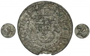 Zygmunt III Waza, Szeląg Wilno 1612 - EKSTREMALNIE RZADKI