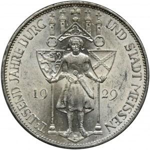 Niemcy, Republika Weimarska, 3 Marki Muldenhütten 1929 E