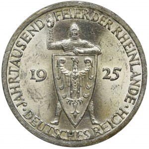 Germany, Weimar Republic, 3 Mark Berlin 1925 A