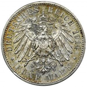 Niemcy, Saksonia, Fryderyk August III, 5 Marek Muldenhütten 1914 E