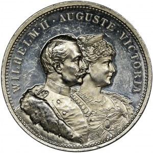Niemcy, Brandenburgia-Prusy, Wilhelm II, Medal Norymberga 1906