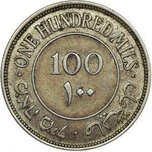 Palestyna, Brytyjski Mandat, 100 Mils Londyn 1935