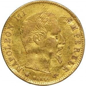 Francja, Napoleon III, 5 Franków Strasburg 1860 BB