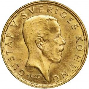 Sweden, Gustaf V, 5 Kronor Stockholm 1920