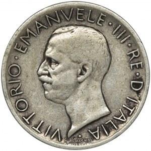 Italy, Kingdom of Italy, Victor Emanuel III, 5 Lira Rome 1927 R