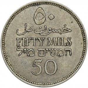 Palestyna, Brytyjski Mandat, 50 Mils Londyn 1939