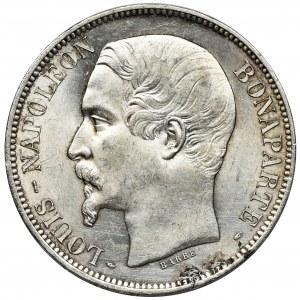 Francja, Napoleon III, 5 Franków Paryż 1852 A