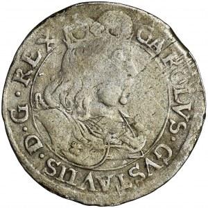 Swedish occupation, Carolus X Gustav, 6 Groschen Elbing 1658 - RARE